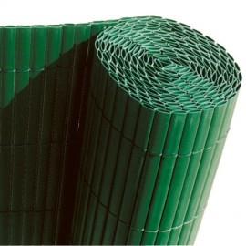 CAÑIZO DE PVC VERDE DOBLE CARA 1350 GRAMOS