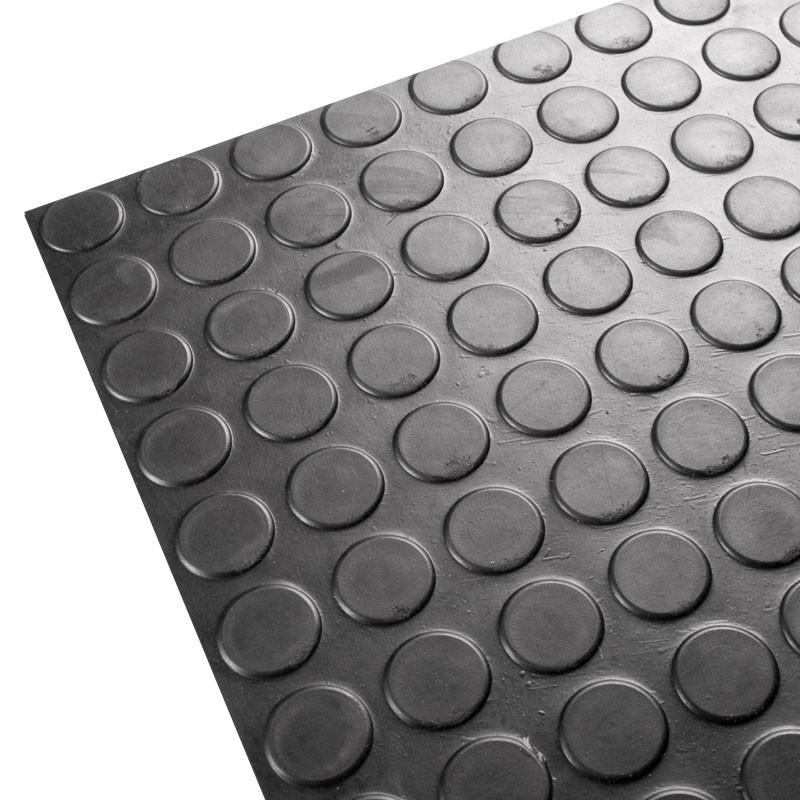 Pavimentos de circulos negros for Suelo vinilo al corte